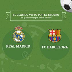 El clásico visto por el seguro: Madrid vs Barcelona
