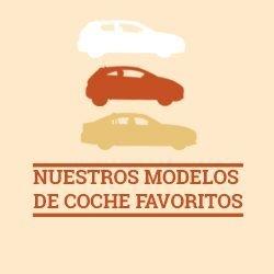 Los modelos de coches preferidos por los españoles