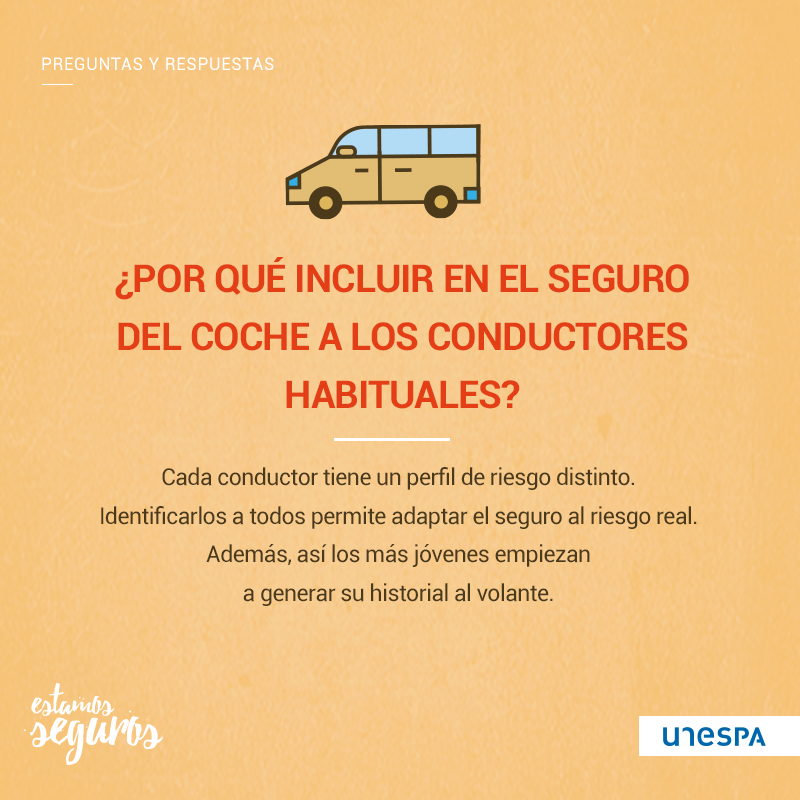 ¿Hay que incluir en el seguro de coche a los conductores habituales?