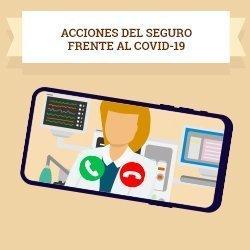 Acciones del seguro frente al COVID-19