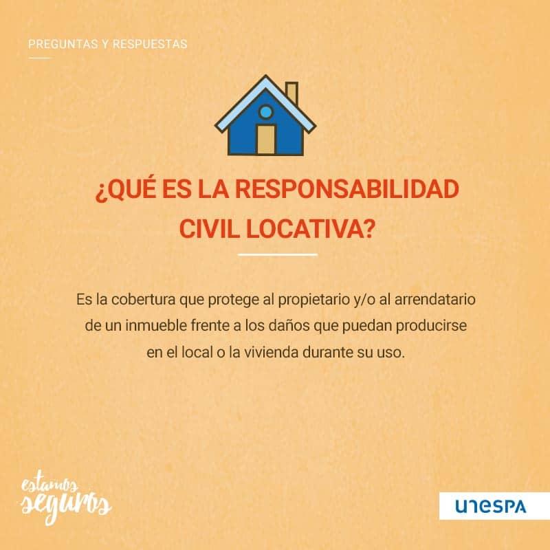 ¿Qué es la responsabilidad civil locativa?
